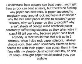 paper rock